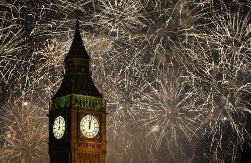 Как встречают Новый год в Англии
