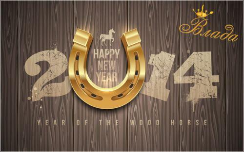Новый год 2014 в гостинице Влада