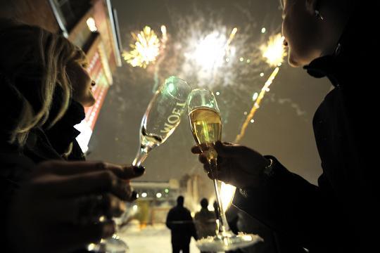 Новый год 2015 в отеле Верховина