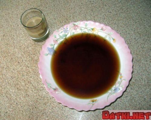 Смешиваем кофе и ликер
