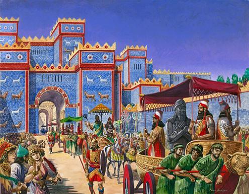 Как праздновали Новый год в Вавилоне