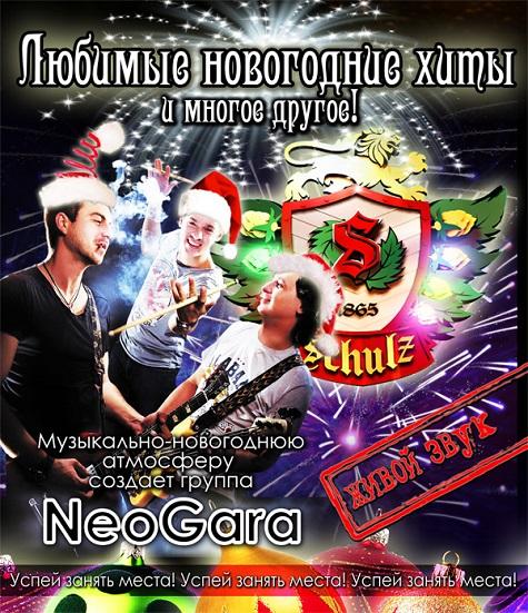 Неогара на Новый год 2015 в Шульц пабе