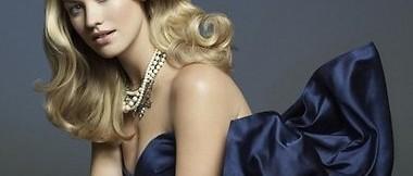 Новогоднее платье для блондинки