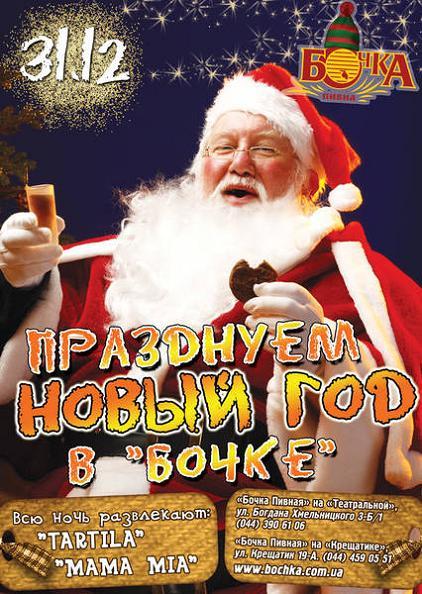 Новый год 2014 в Бочке