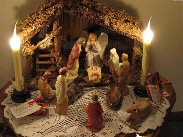 Как празднуют Рождество в Англии и Америке: фигурки