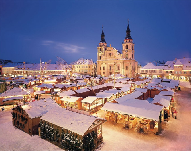 Рождественская ярмарка в Германии