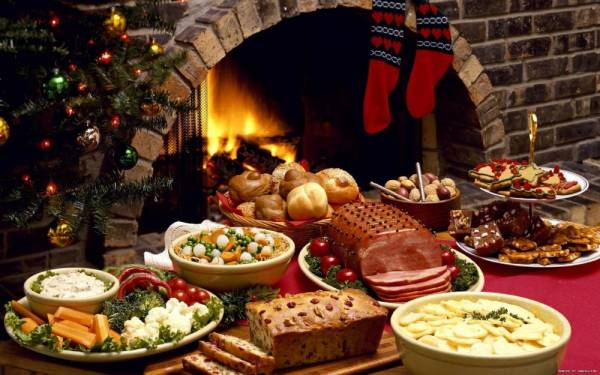 Рождественский стол в Италии