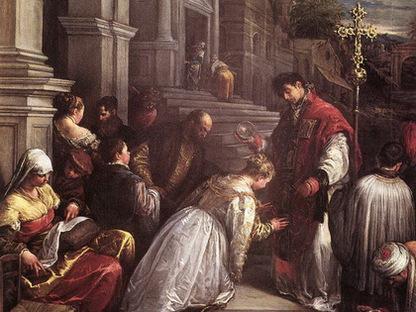 История праздника День Святого Валентина (Валентин венчает молодых)