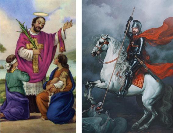 Клавдий II и Святой Валентин
