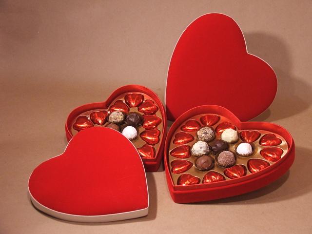 Конфеты в день святого Валентина