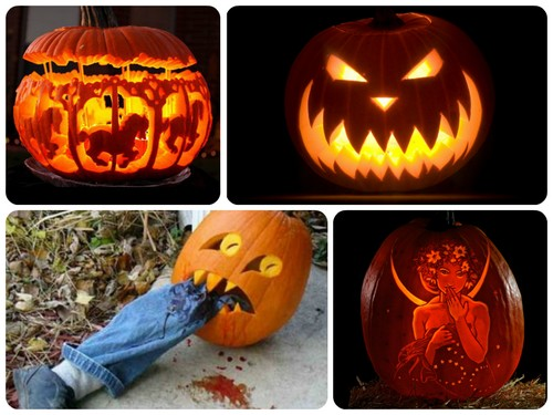 образы на хэллоуин ведьма