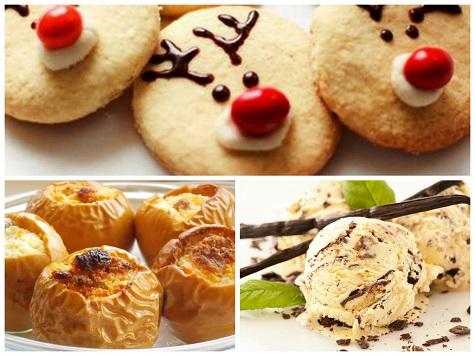 Новогодние сладости на стол