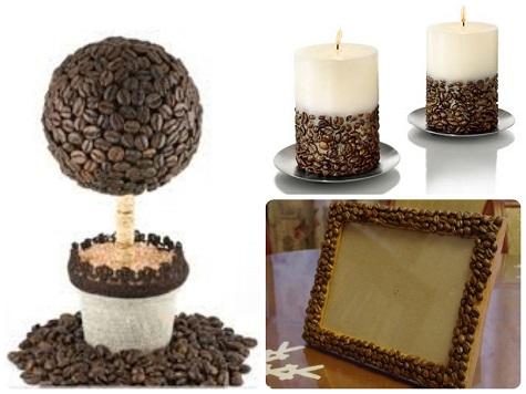Сделайте подарок маме на Новый год из кофейных зерен
