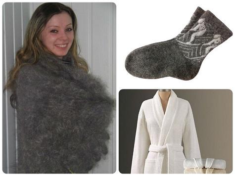 Что подарить бабушке на Новый год - теплые вещи