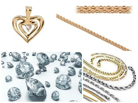 Что подарить девушке на 14 февраля - ювелирные украшения