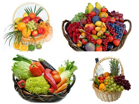 Что подарить маме на Новый год - корзину с фруктами или офощами