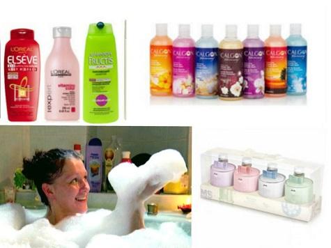 Что подарить маме на Новый год - набор для ванной