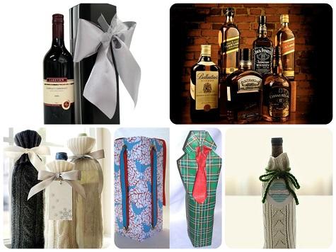 Что подарить мужчине на Новый год - элитный алкоголь