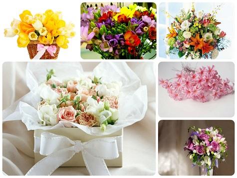 Что подарить на НГ – цветы!