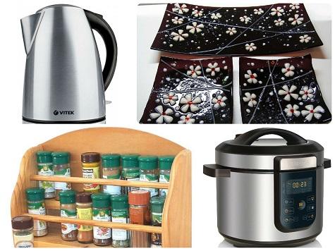 Что подарить на Новый год маме - что-то на кухню