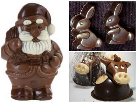 Шоколадные фигурки на Николая