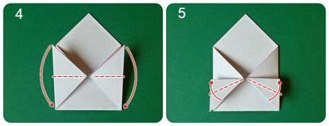 Валентинка-оригами своими руками