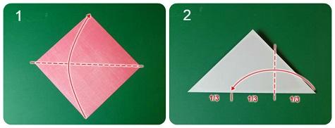 Как сделать валентинку-оригами