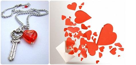 Подарите ключ от сердца на 14 февраля