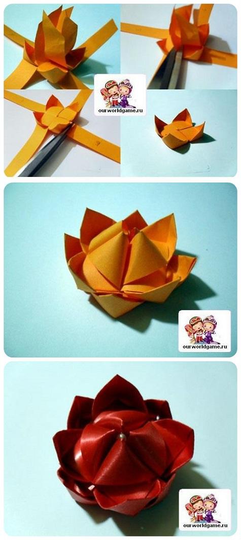 Цветок лотоса на День Влюбленных