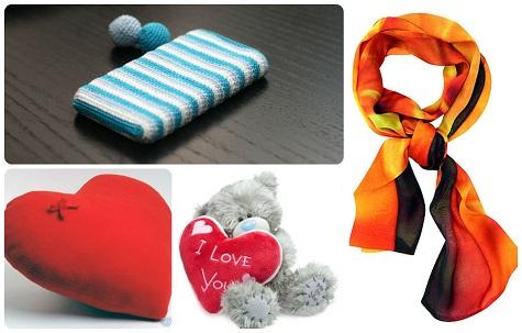 Что подарить девушке на День Влюбленных - милые мелочи