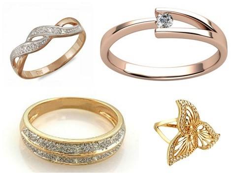 Что подарить жене на День Святого Валентина - золотое кольцо