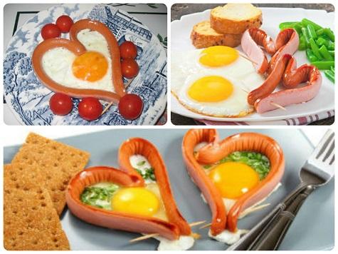 Что подарить на 14 февраля парню – завтрак
