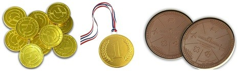 Подарите одноклассникам медали на 23 февраля