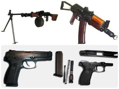 Подарок на 23 февраля мужчине - макет оружия