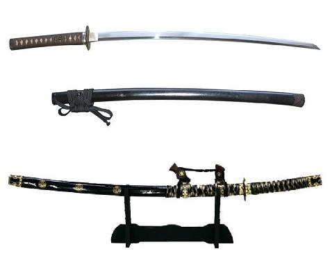 Самурайские мечи на 23 февраля