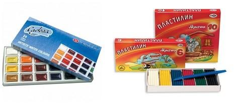 Что купить одноклассникам на 23 февраля - наборы красок