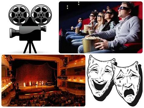 Что подарить брату на 23 февраля - сходить в кино или театр