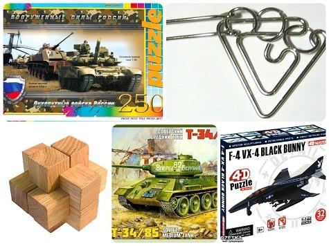 Что подарить мальчикам на 23 февраля - пазлы и головоломки