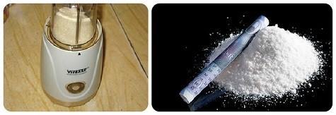 Розыгрыш с сахарной пудрой (кокаин)