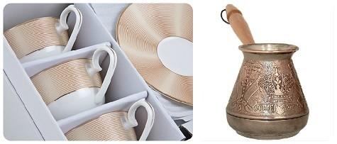 Что подарить маме на 8 марта - турку или чашки