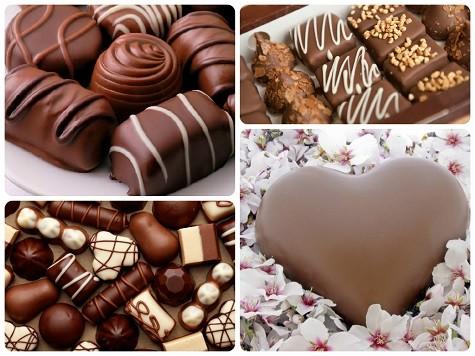 Что подарить на 8 марта девушке - шоколад