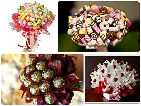 Что подарить сотрудницам на 8 марта - букеты из цветов