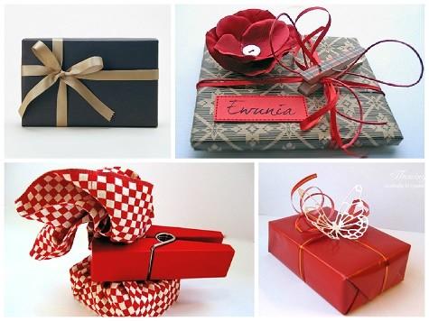 Эффектная упаковка подарка